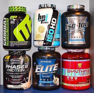 Protein aufnehmen