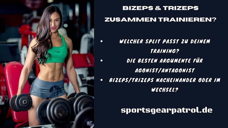 Bizeps Trizeps zusammen trainieren