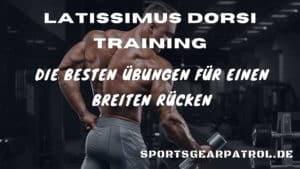 Latissimus dorsi Training