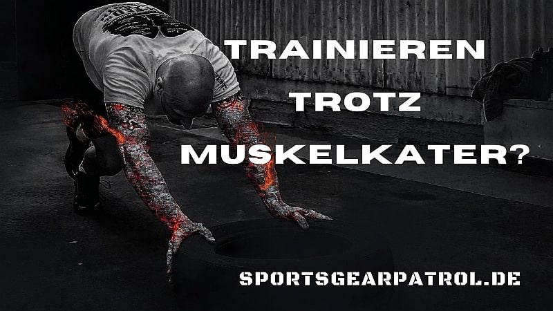 Bild Trainieren trotz Muskelkater
