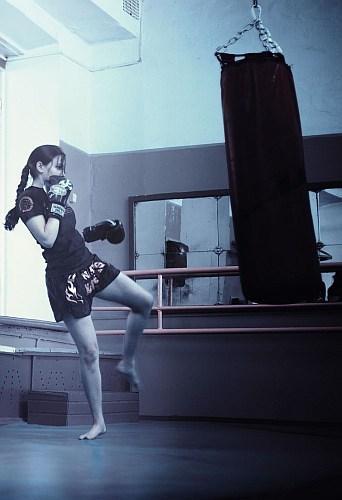 boxsack kickboxen