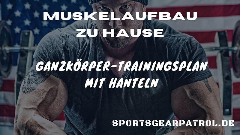 ganzkoerper trainingsplan muskelaufbau