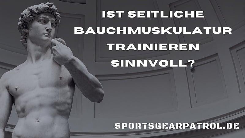 seitliche bauchmuskulatur trainieren