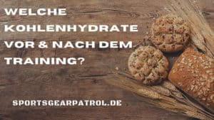 Kohlenhydrate Training