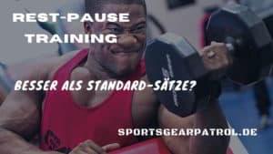 Rest Pause Training