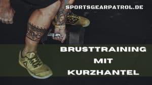 Brusttraining mit Kurzhantel