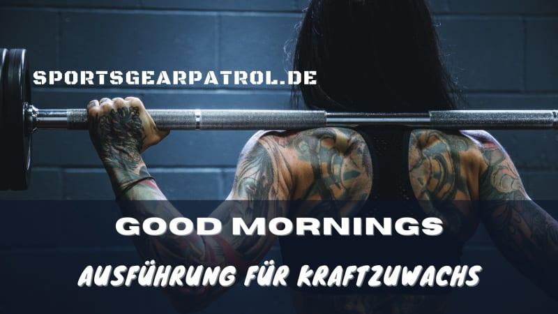 Bild Good Mornings
