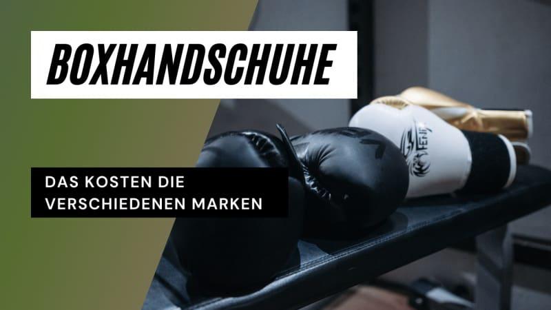 Bild Gute Boxhandschuhe