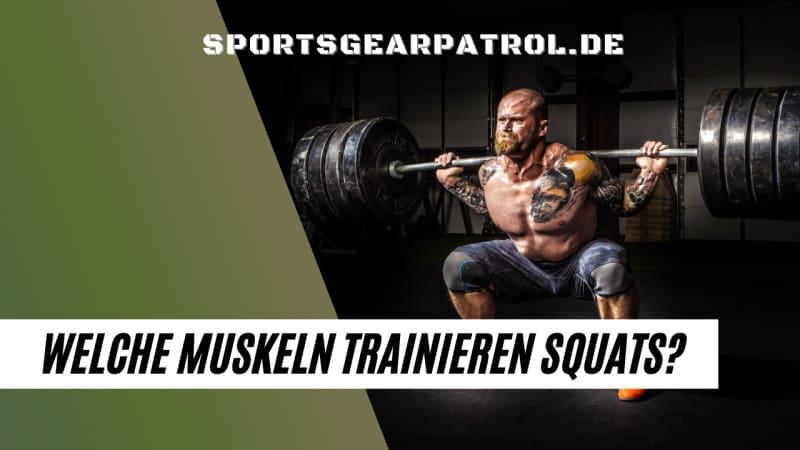 Kniebeugen Muskeln